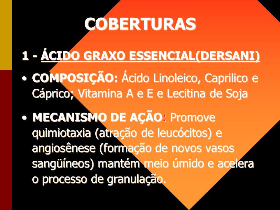 COBERTURAS 1 - ÁCIDO GRAXO ESSENCIAL(DERSANI)