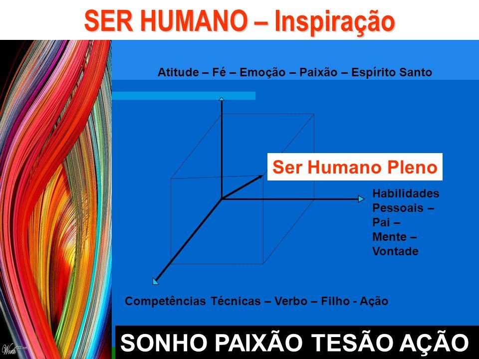 SER HUMANO – Inspiração