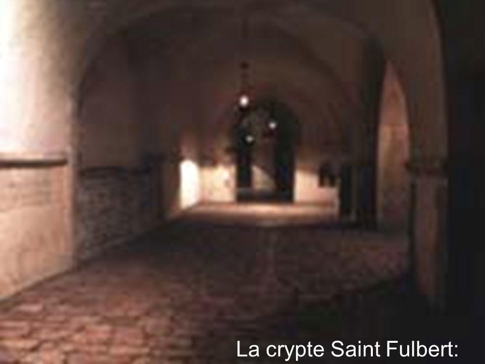 La crypte Saint Fulbert: