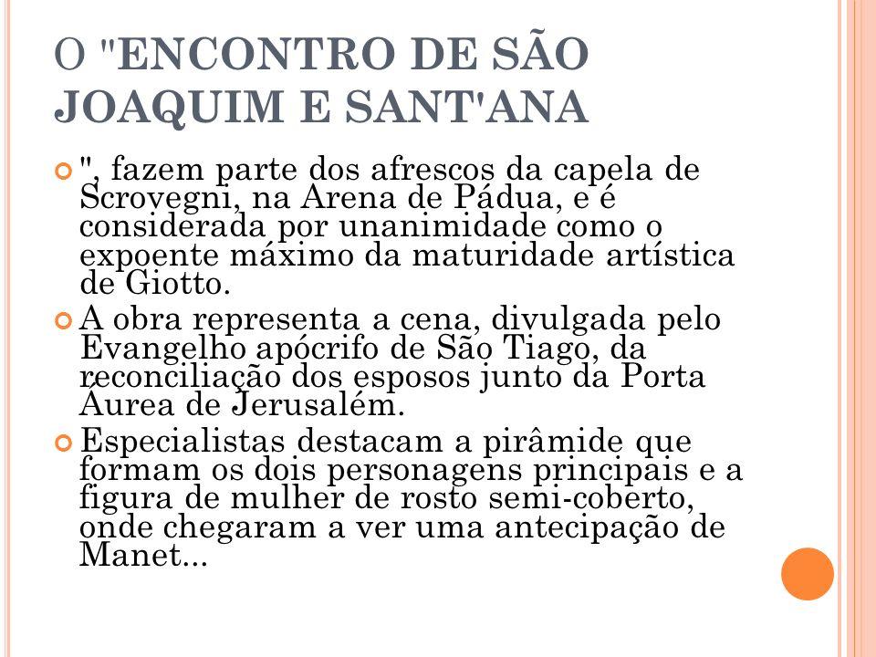 O ENCONTRO DE SÃO JOAQUIM E SANT ANA