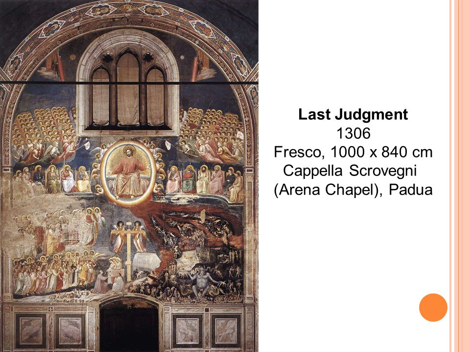 1306 Fresco, 1000 x 840 cm Cappella Scrovegni