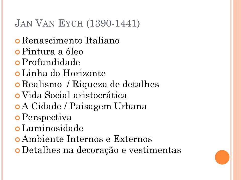 Jan Van Eych (1390-1441) Renascimento Italiano Pintura a óleo