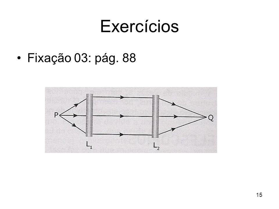Exercícios Fixação 03: pág. 88