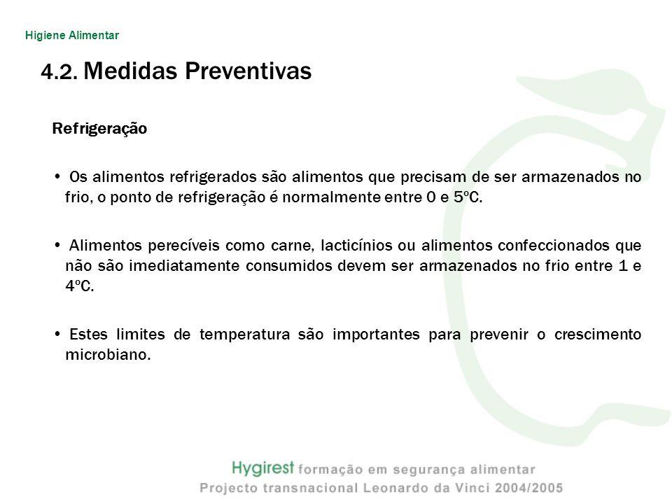 4.2. Medidas Preventivas Refrigeração