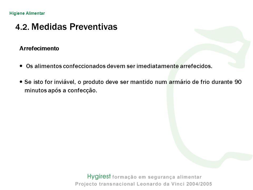 4.2. Medidas Preventivas Arrefecimento
