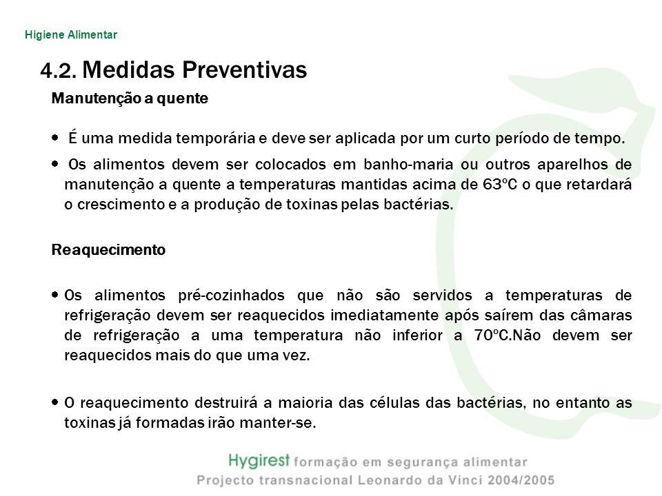 4.2. Medidas Preventivas Manutenção a quente