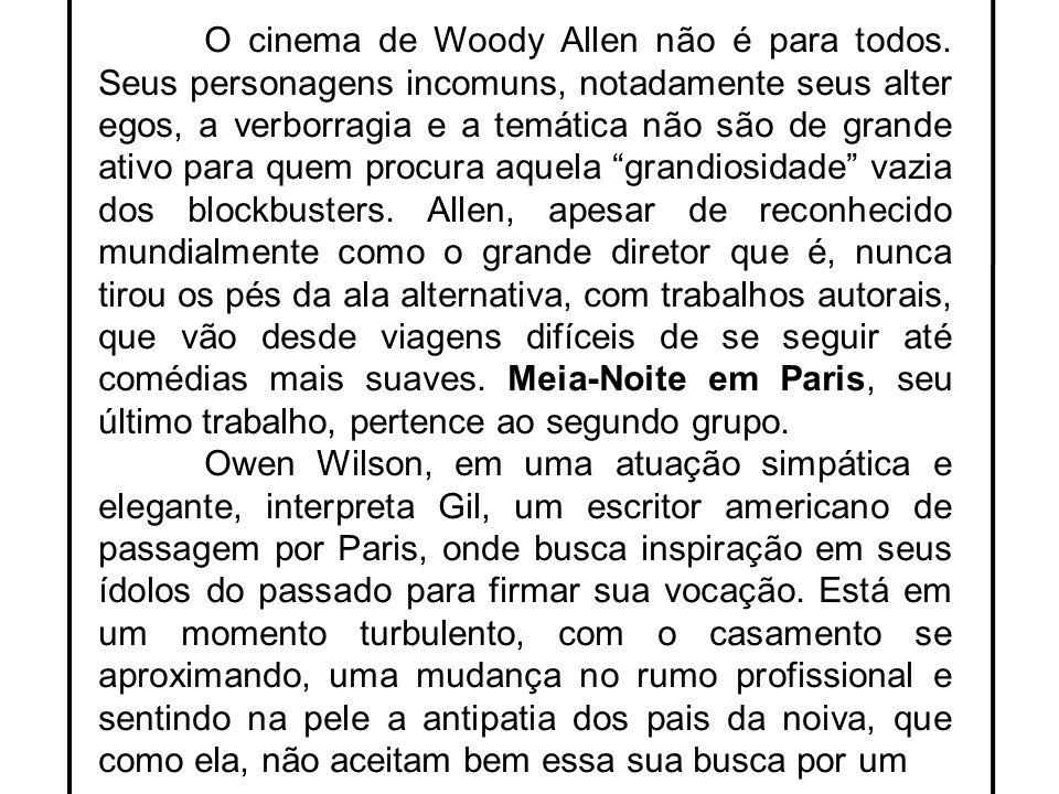 O cinema de Woody Allen não é para todos