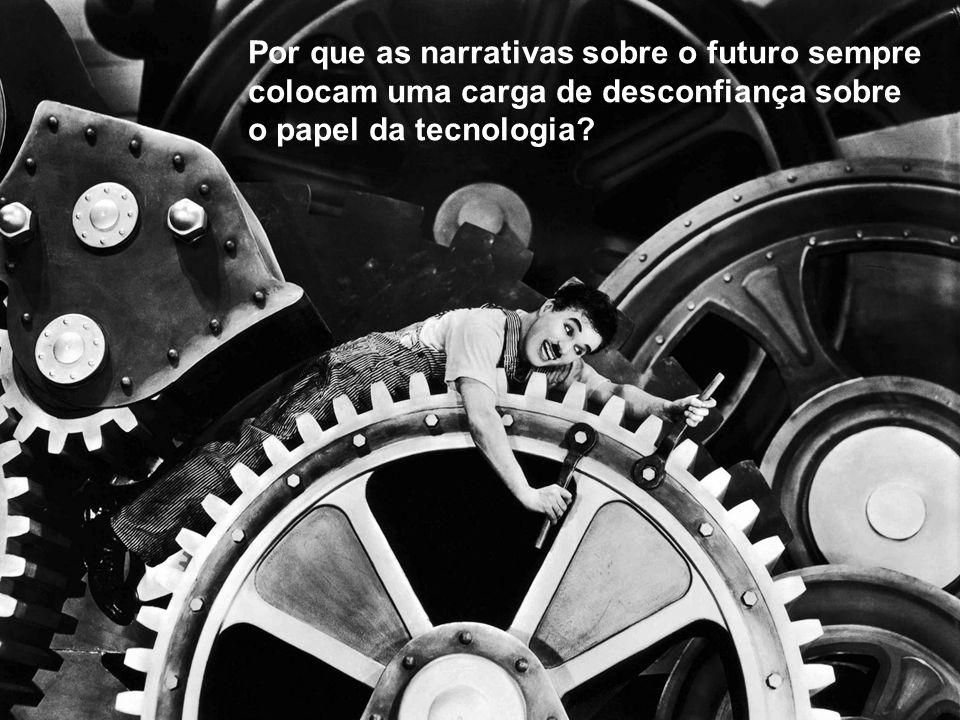 Por que as narrativas sobre o futuro sempre colocam uma carga de desconfiança sobre o papel da tecnologia
