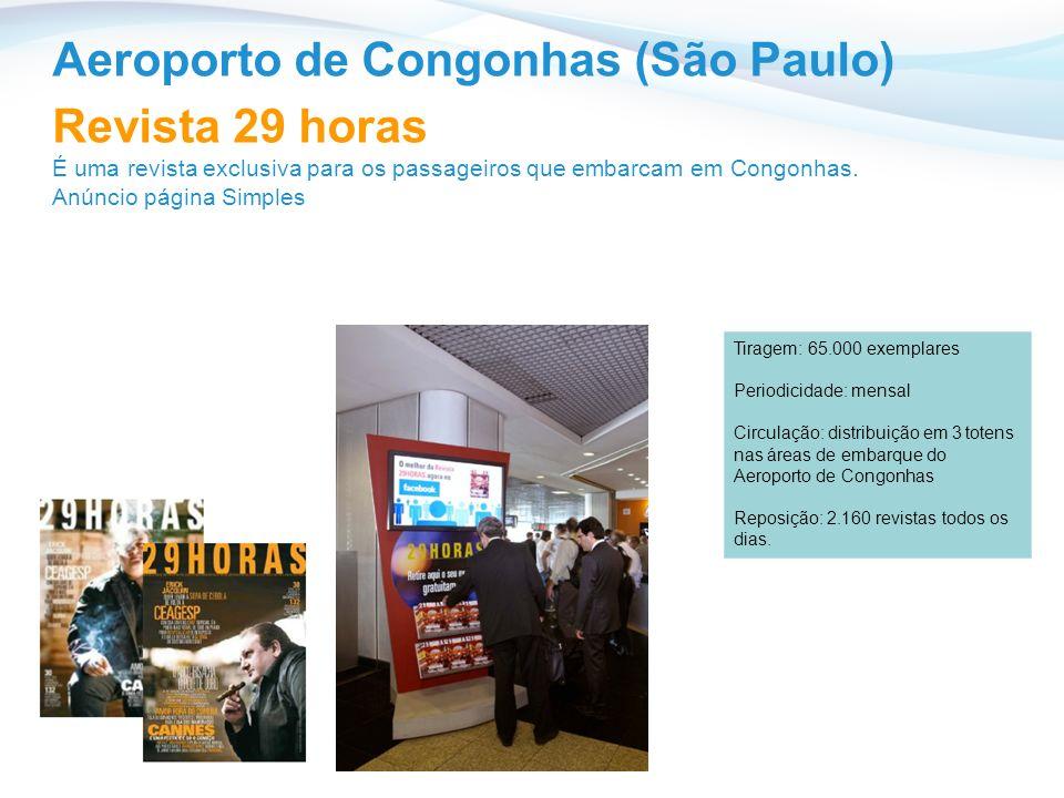 Aeroporto de Congonhas (São Paulo) Revista 29 horas