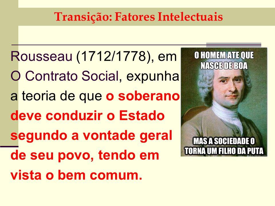 Transição: Fatores Intelectuais