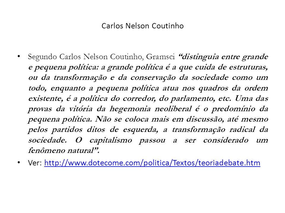 Carlos Nelson Coutinho