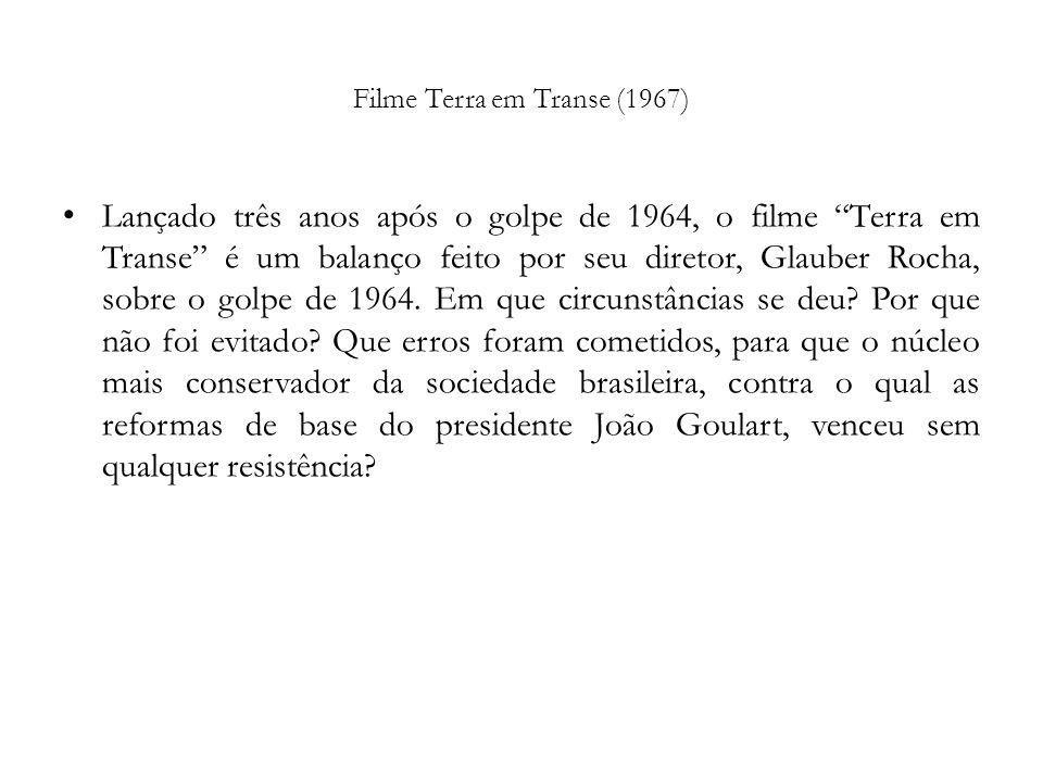 Filme Terra em Transe (1967)