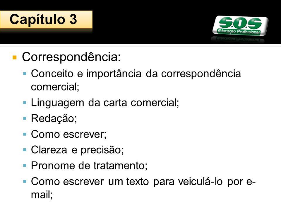 Capítulo 3 Correspondência: