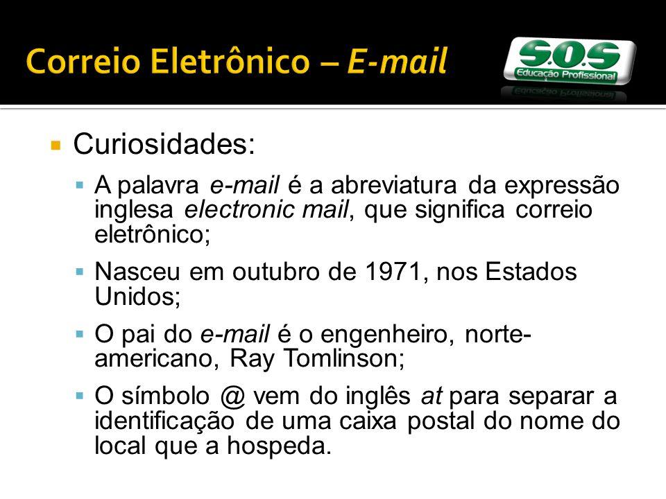 Correio Eletrônico – E-mail