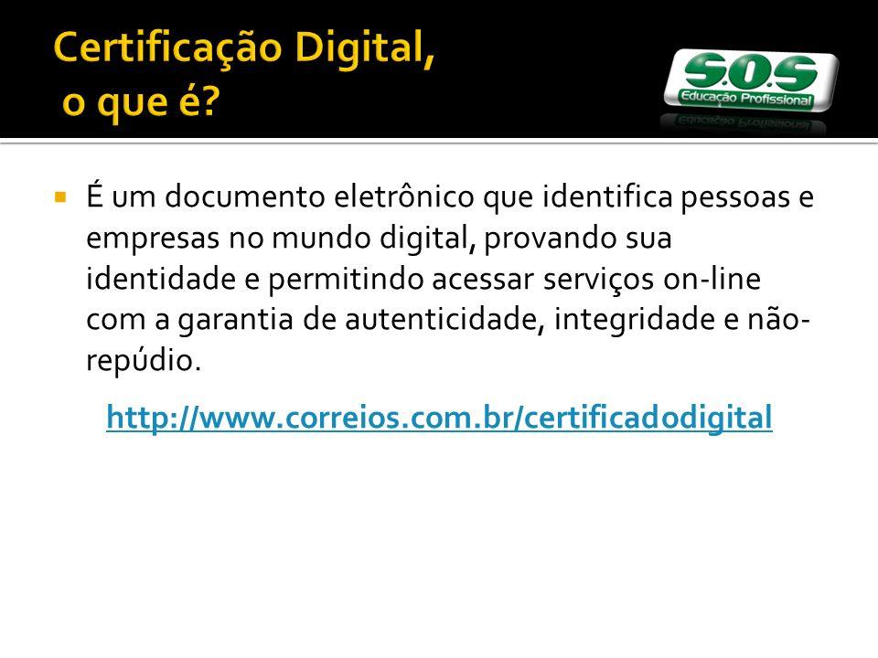 Certificação Digital, o que é