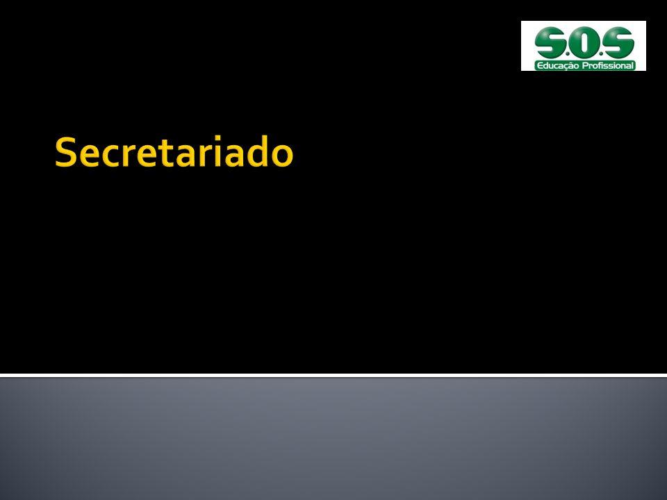 Secretariado Apresentações das 1ª. E 2ª. Aulas de Secretariado