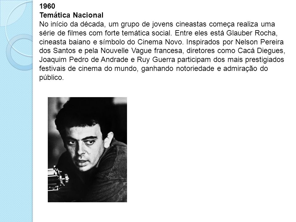 1960 Temática Nacional.
