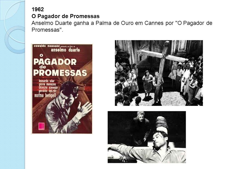 1962 O Pagador de Promessas.