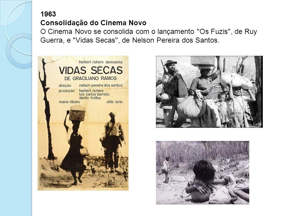 1963 Consolidação do Cinema Novo.