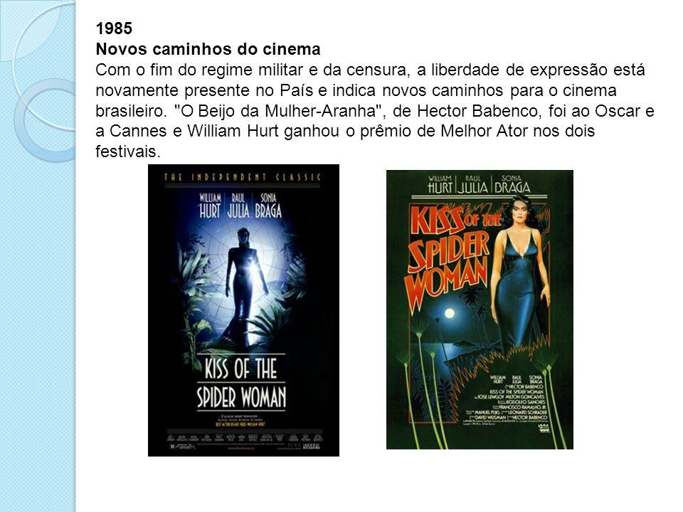 1985 Novos caminhos do cinema.