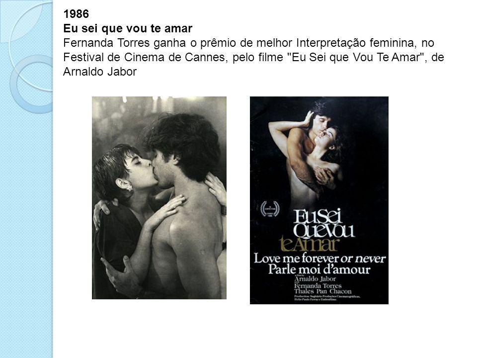 1986 Eu sei que vou te amar.