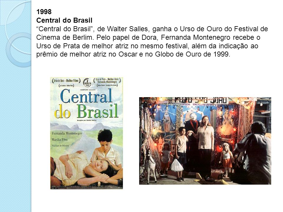 1998 Central do Brasil.