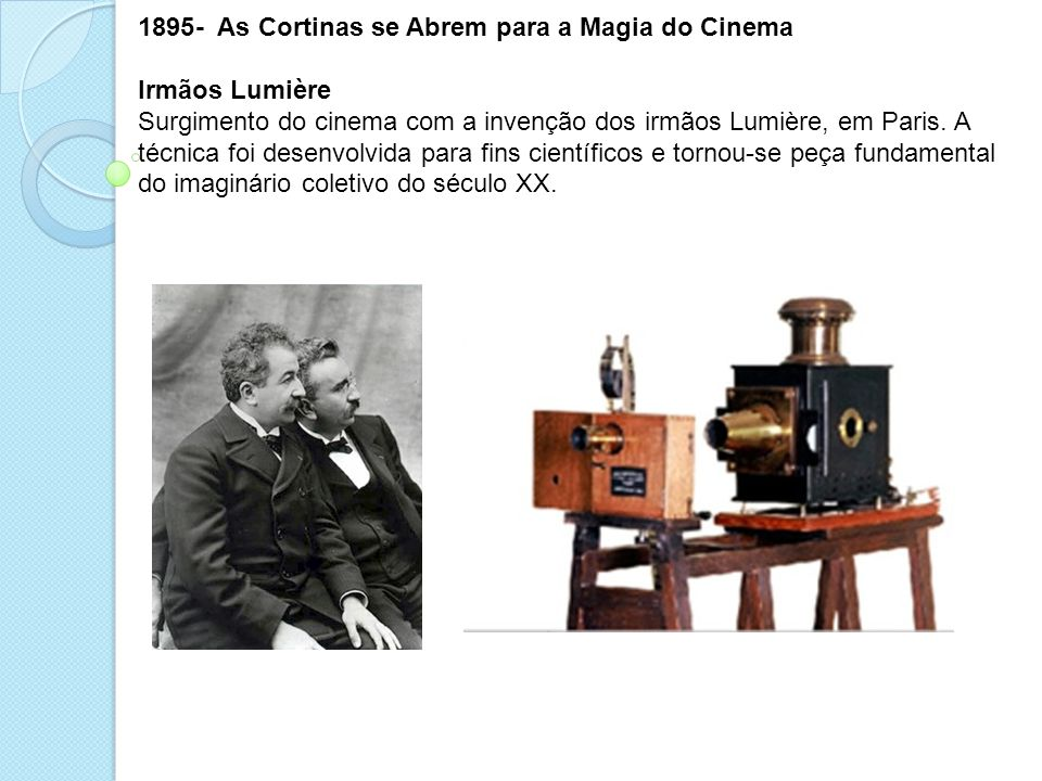 - As Cortinas se Abrem para a Magia do Cinema