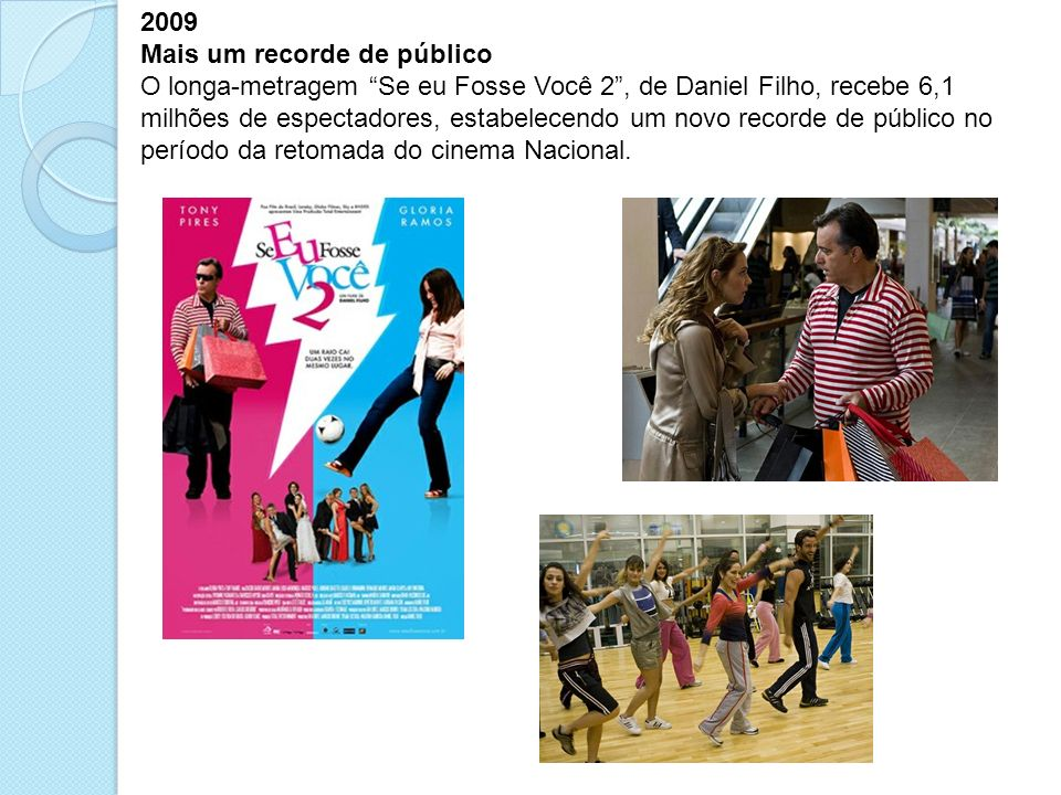 2009 Mais um recorde de público.