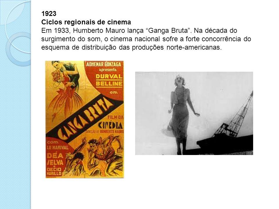 1923 Ciclos regionais de cinema.