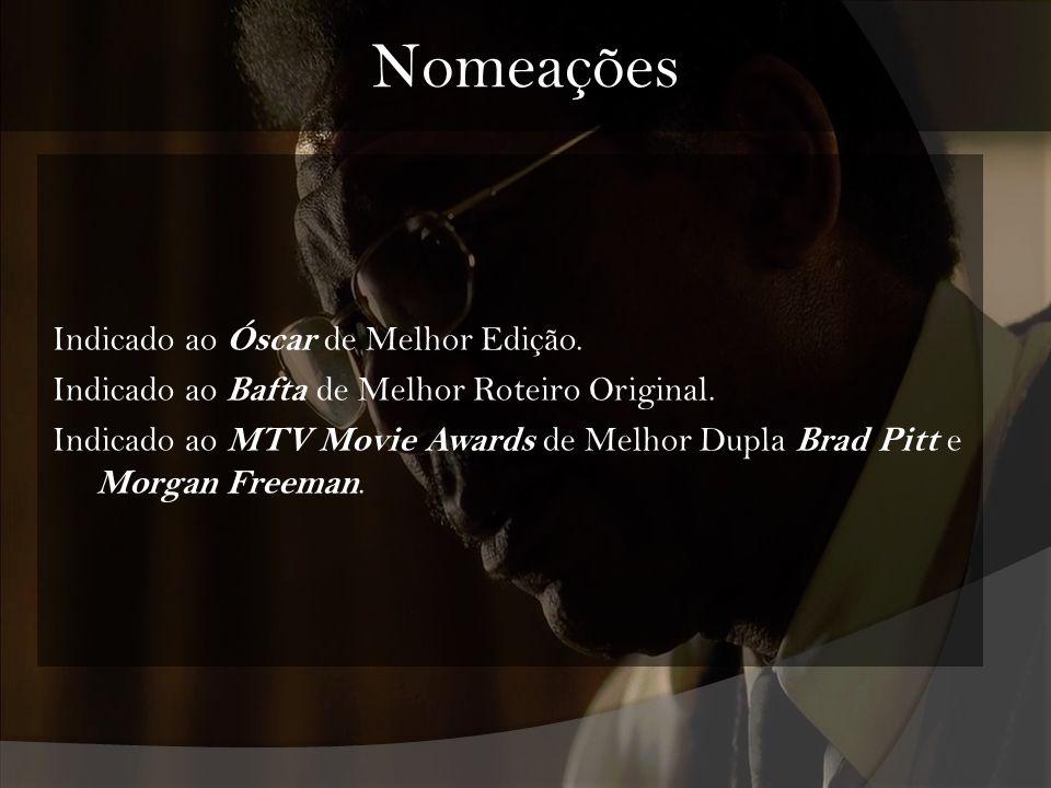 Nomeações Indicado ao Óscar de Melhor Edição.