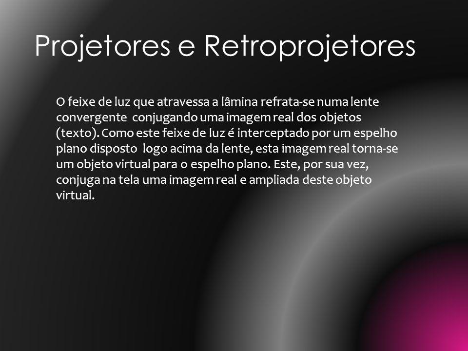 Projetores e Retroprojetores