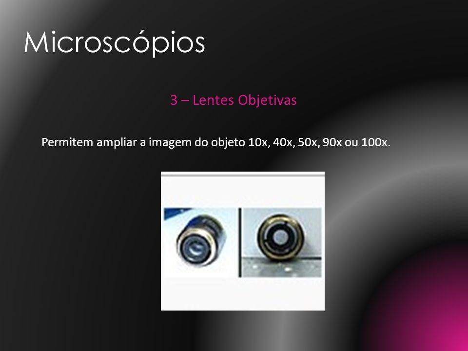 Microscópios 3 – Lentes Objetivas