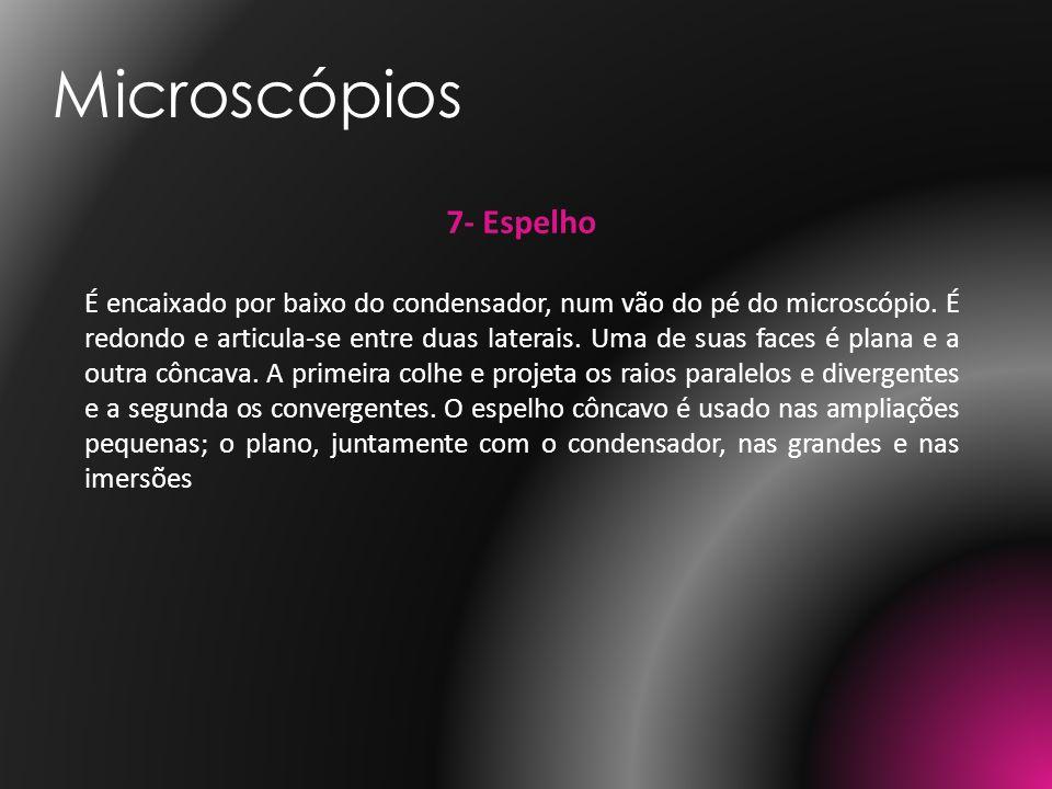 Microscópios 7- Espelho