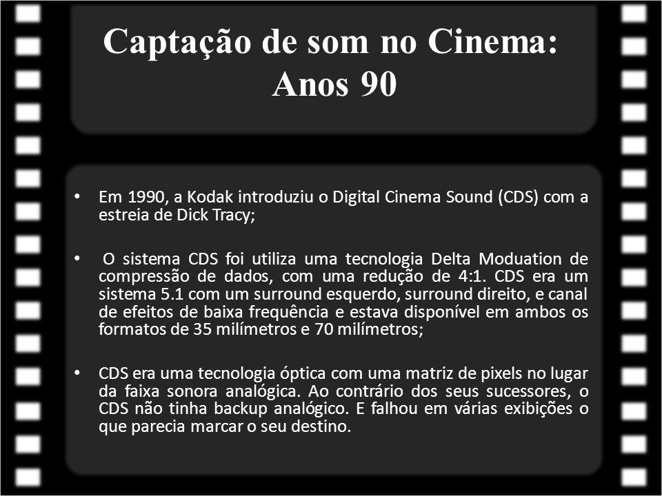 Captação de som no Cinema: Anos 90