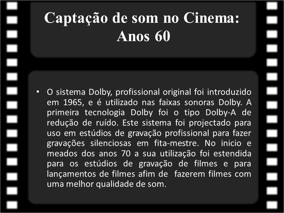 Captação de som no Cinema: Anos 60