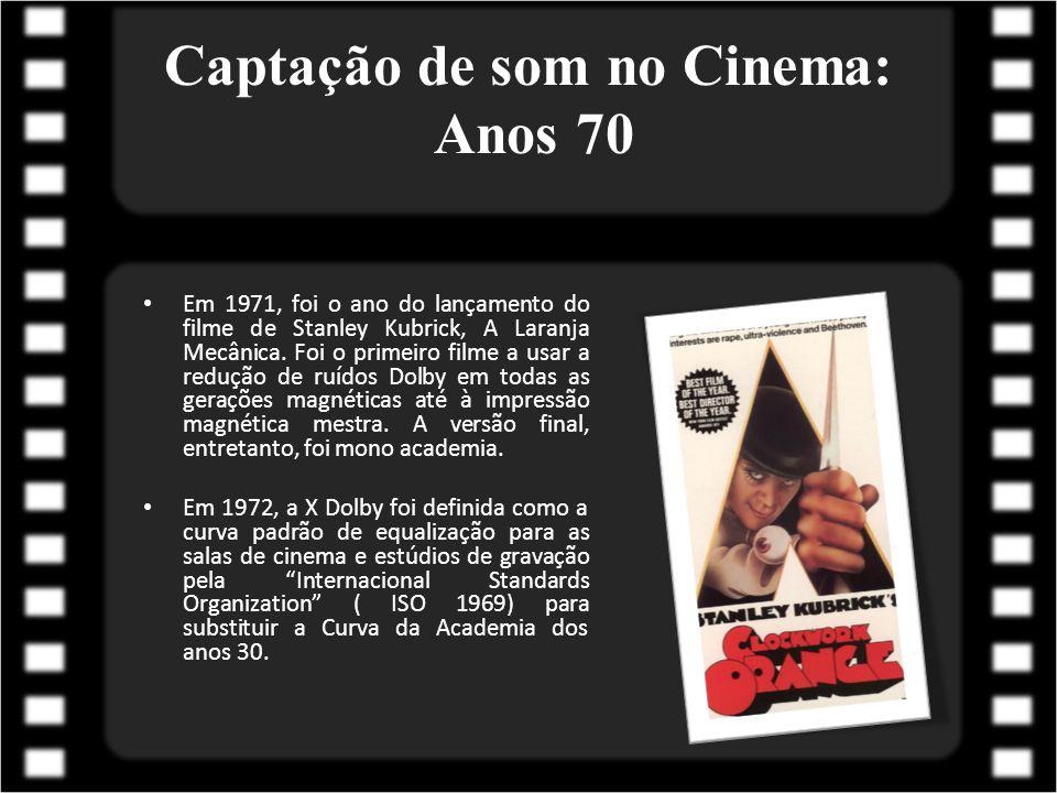 Captação de som no Cinema: Anos 70