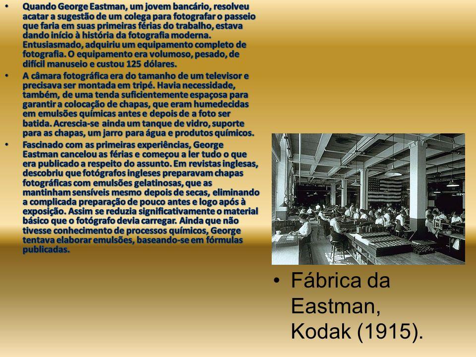 Fábrica da Eastman, Kodak (1915).