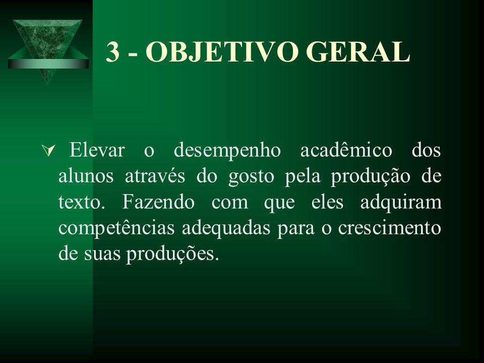 3 - OBJETIVO GERAL