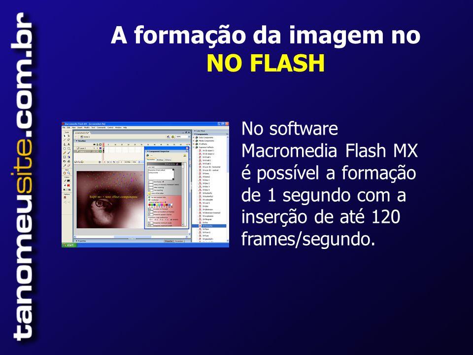 A formação da imagem no NO FLASH