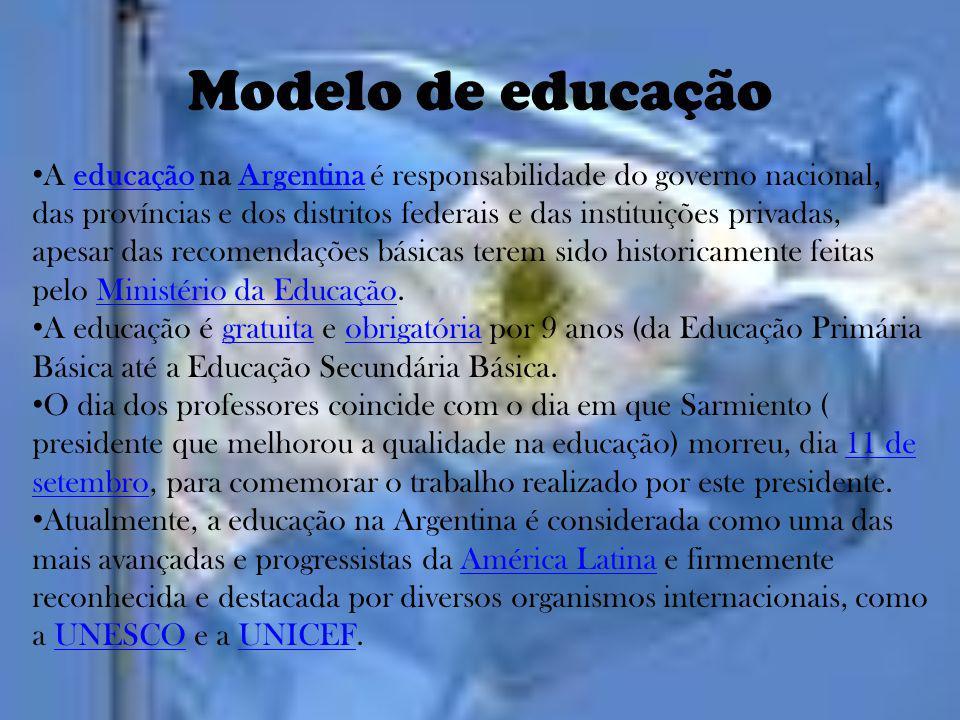 Modelo de educação