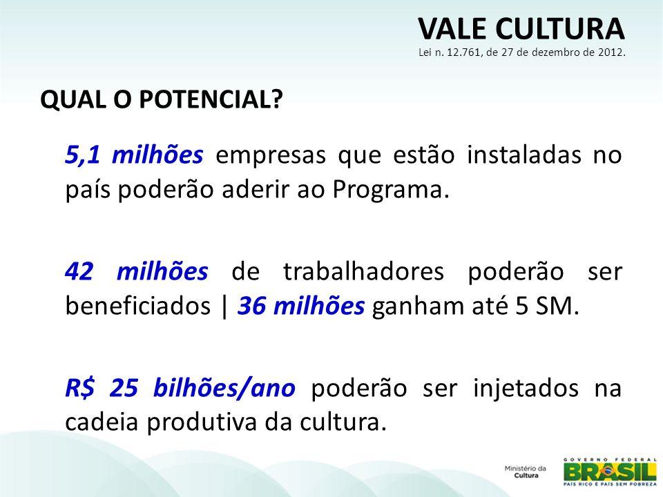QUAL O POTENCIAL. 5,1 milhões empresas que estão instaladas no país poderão aderir ao Programa.