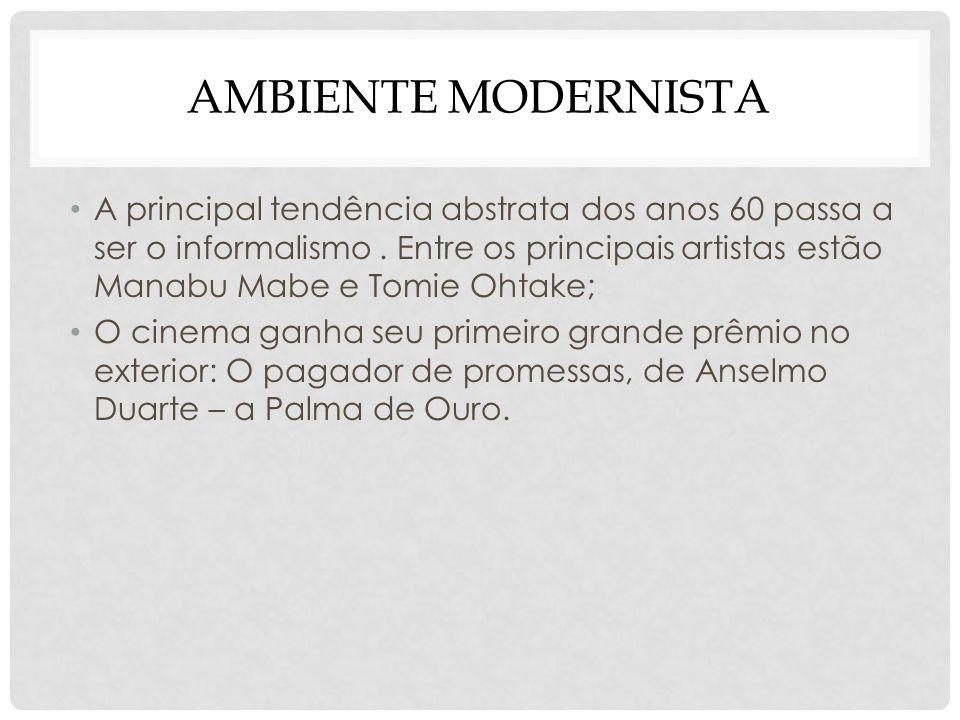 Ambiente modernista