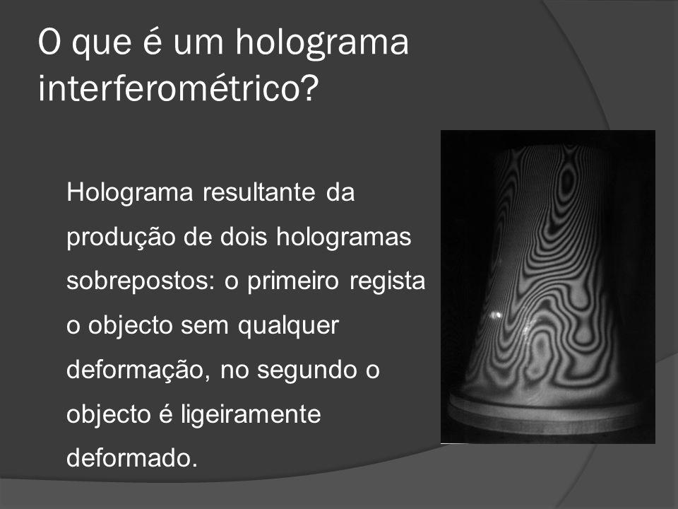 O que é um holograma interferométrico