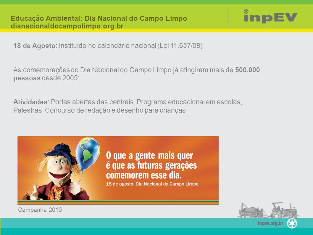 Educação Ambiental: Dia Nacional do Campo Limpo