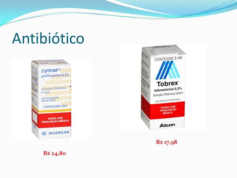Antibiótico R$ 17,98 R$ 24,80
