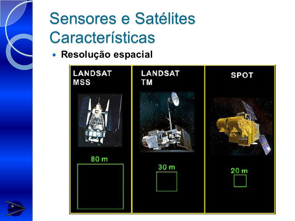 Sensores e Satélites Características