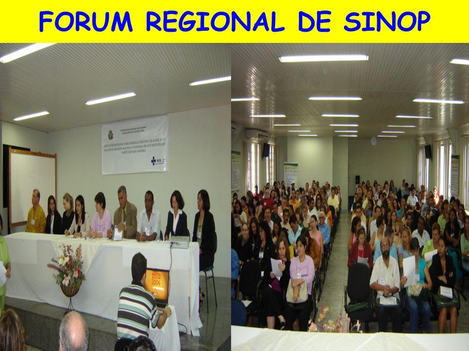 FORUM REGIONAL DE SINOP