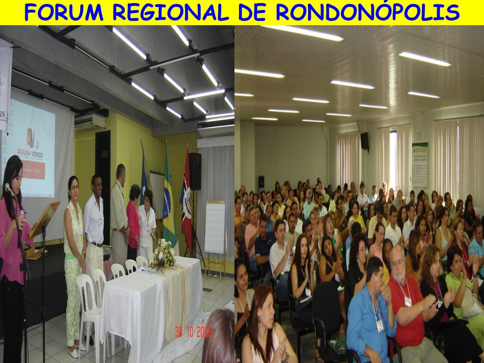 FORUM REGIONAL DE RONDONÓPOLIS