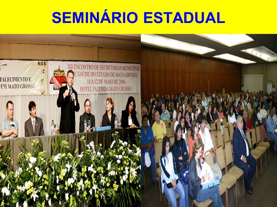 SEMINÁRIO ESTADUAL