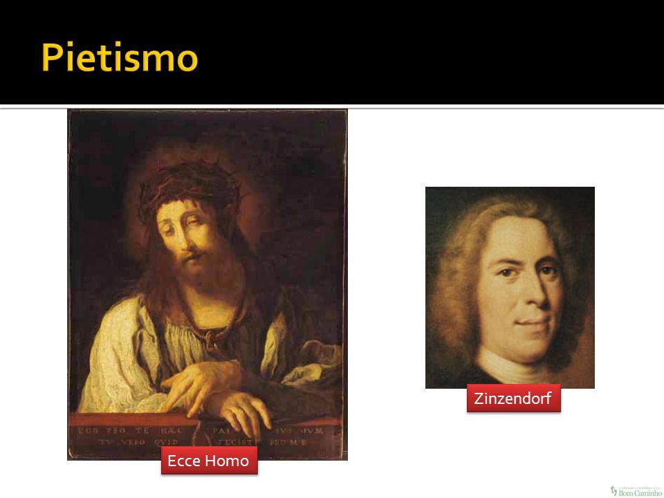 Pietismo Zinzendorf Ecce Homo